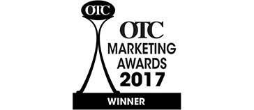 OTC Marketing Awards 2017 winner