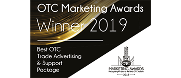 OTC Marketing Awards 2019 Winner - Best OTC Trade Advertising & Support Package