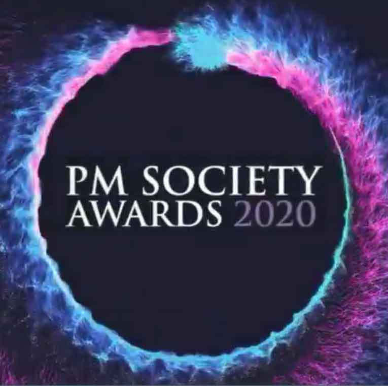 PM Society Awards 2020 logo