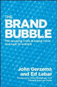 The Brand Bubble - cover book
