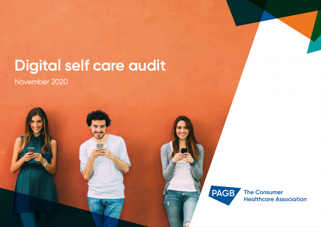 Digital self care audit PAGB cover page