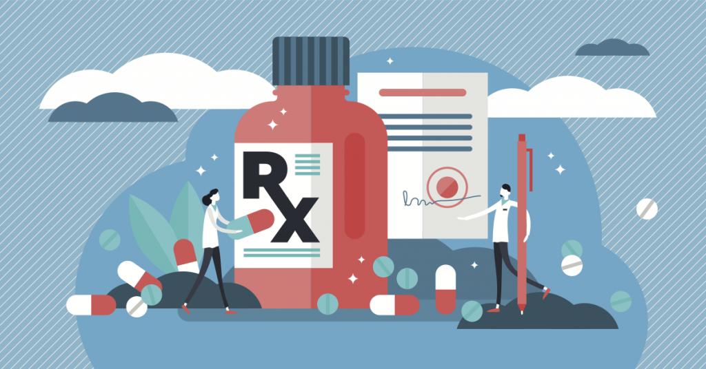 Medicines illustration